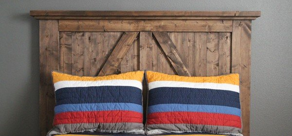 Barn Door Headboard Plans