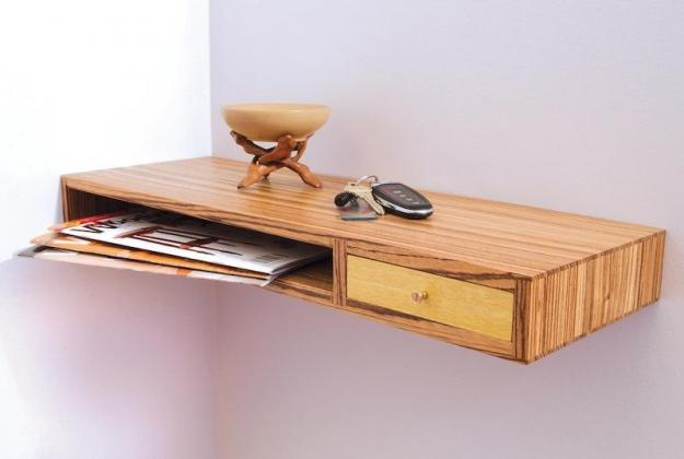 Free Floating Shelf Plans