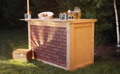 Free Outdoor Bar Plans