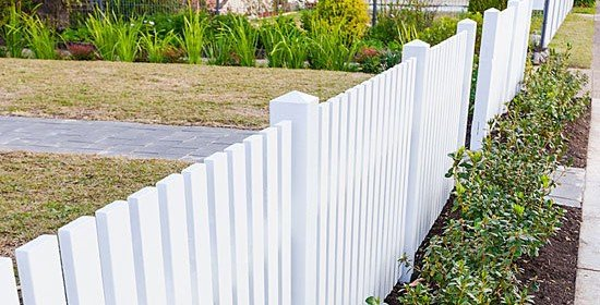 Free Picket Fence Plans