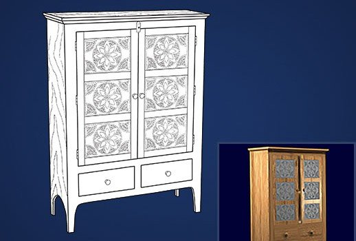 Pie Cabinet Plans – Free – pi Day