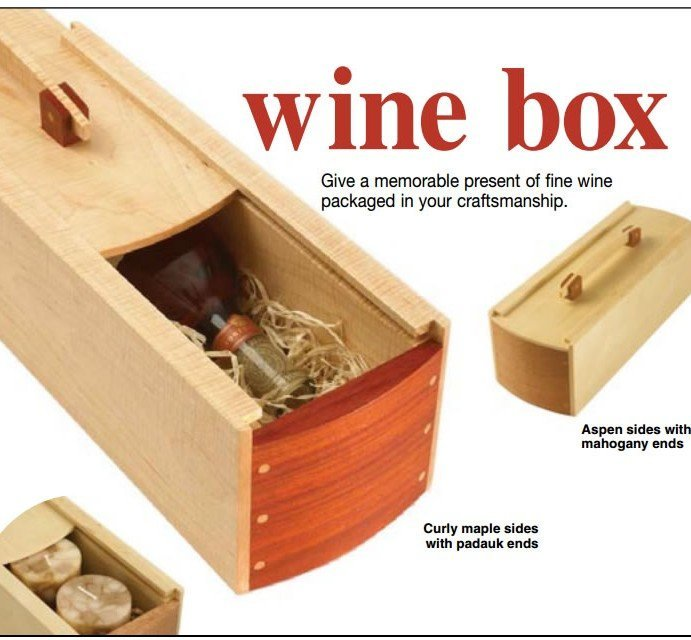 Wine Box Plan – Free