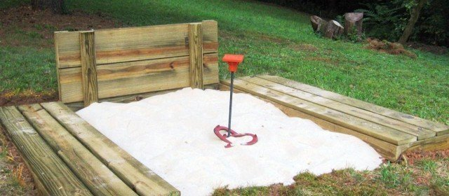 Free Horseshoe Pit Plans