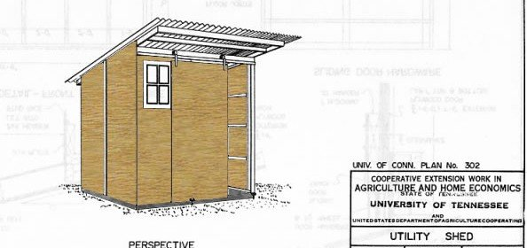 Free Shed Plans with Sliding Door