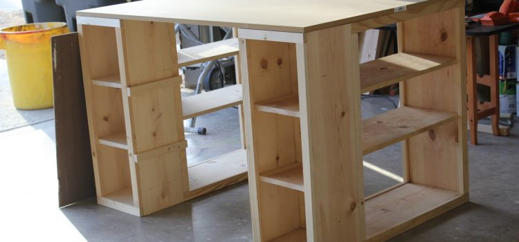 Free Shelf Desk Plans