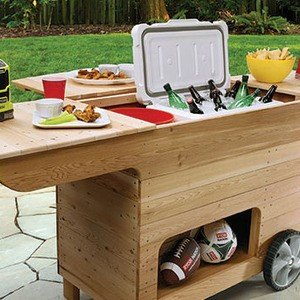 Outdoor Party Station Plans