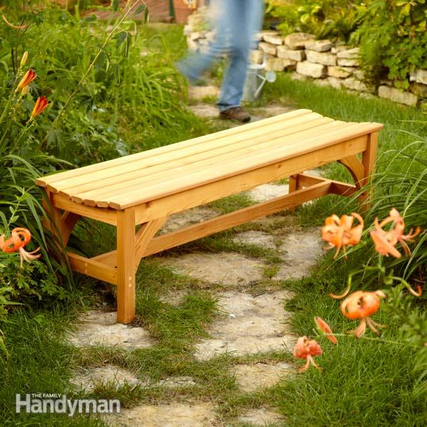 How To Build A Garden Bench Woodwork City Free