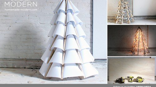 Beautiful DIY Modern Christmas Tree