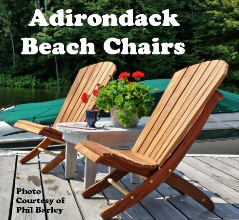 Adirondack Style Beach Chairs