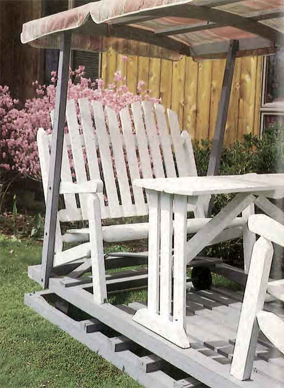 Free Lawn Glider Plans Woodwork City Free Woodworking Plans