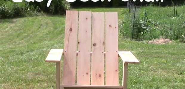 Easy Adirondack Chair