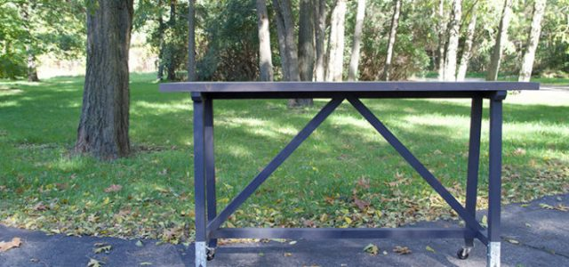 Build an Industrial Style Table Without Welding