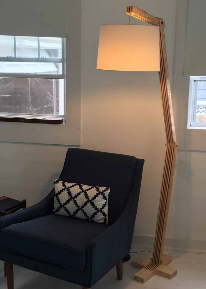 Articulated Floor Lamp – With Yardsticks!