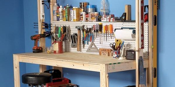 Super Sturdy DIY Workbench – Standalone