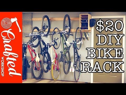 $20 DIY Bike Rack